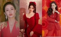 Dàn mỹ nhân Hoa ngữ 'mỗi người một vẻ' rực rỡ trong sắc đỏ