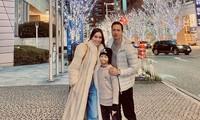 Hồ Ngọc Hà cùng Kim Lý và con trai du xuân Nhật Bản, Subeo gây bất ngờ