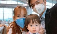 Sao Việt đi chơi Tết giữa 'bão' virus Corona: Ai cũng kín mít khẩu trang