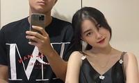 Khoảnh khắc 'tình bể bình' của Hà Đức Chinh và bạn gái mặt đẹp như trăng rằm