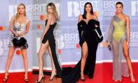 Dàn sao thảm đỏ Brits 2020: Hết 'thả rông' khoe ngực, đến váy xẻ sâu bất tận