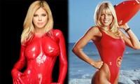 Cựu mẫu Playboy U55 khoả thân, phủ sơn lên người để làm từ thiện