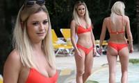Olivia Bentley thả dáng nóng bỏng với bikini bé xíu