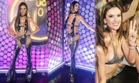 Alessandra Ambrosio lại gây sốc với bộ đồ không khác gì nội y
