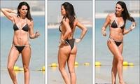 Hoa hậu Anh bị tước vương miện khoe body 'cực phẩm' với bikini gần 10 triệu