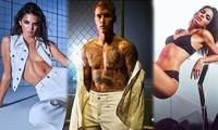 Vắng bà xã, Justin Bieber cùng Kendall Jenner cởi đồ đóng quảng cáo nội y