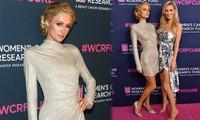 Mặc váy kín bưng, Paris Hilton vẫn khiến fans 'đỏ mặt' vì không nội y
