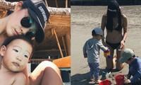 Đăng ảnh mặc bikini gợi cảm đi chơi biển, mỹ nhân Hàn bị 'ném đá'