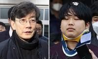 """CEO đài JTBC Son Suk Hee (trái) từng bị nghi phạm vụ """"Phòng chat thứ N"""" Cho Joo Bin tống tiền."""