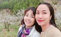 Ốc Thanh Vân và người bạn quá cố Mai Phương.