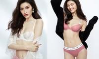 'Chân dài' Victoria's Secret gốc Hoa khoe đường cong tinh tế với loạt nội y