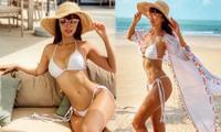Hà Anh tung ảnh mặc bikini bé xíu, tự tin: 'Đẳng cấp là mãi mãi'