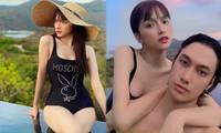 Hương Giang Idol sexy với đồ bơi, ôm ấp 'trai lạ' khiến dân tình xôn xao