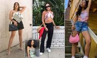 Giới blogger 'phủ kín' mạng xã hội với mốt cuốn khăn làm áo