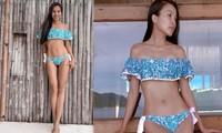Hiền Thục gây choáng với hình thể 'không phải dạng vừa' với bikini ở tuổi 39