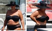 'Nàng béo' Gemma Collins tự tin diện bikini sau khi giảm gần 20kg