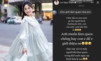 Bà xã Dương Khắc Linh liên tục đăng ảnh bầu vẫn có trai nhắn tin cưa cẩm