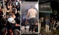 Nhiều 'sao' mạng xã hội tiệc tùng thâu đêm bất chấp COVID-19