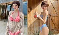 Hiền Hồ tung ảnh bikini 'thả thính', fan thi nhau làm thơ đáp lễ