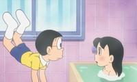 Fan Nhật kiến nghị cắt hết cảnh Nobita bắt gặp Shizuka đang tắm trong 'Doraemon'