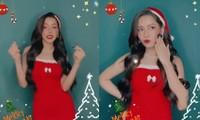 Chi Pu hóa 'bà già Noel' gợi cảm, nhảy sexy đón Giáng sinh