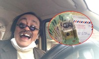 Nghệ sĩ Giang Còi đi mua thuốc bất ngờ được mừng tuổi số tiền gấp 5 lần