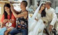 Bộ ảnh cưới của cặp đôi vô gia cư sống chung 24 năm chưa từng vào lễ đường