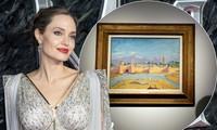 Angelina Jolie bán tranh hiếm Brad Pitt tặng, do cựu Thủ tướng Anh vẽ được 11,5 triệu USD