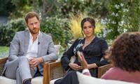Cuộc phỏng vấn độc quyền Harry và Meghan khiến CBS chi khoản tiền không hề nhỏ. Ảnh: Getyy