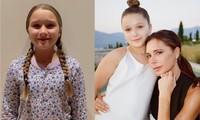 Con gái Beckham chúc mừng ngày phụ nữ, mới 10 tuổi đã phổng phao thấy rõ