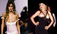 12 khoảnh khắc 'ngực trần' làm nên lịch sử trên sàn catwalk