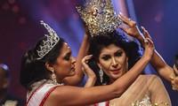 Hoa hậu Quý bà Sri Lanka bị bắt sau vụ giật vương miện