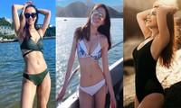 Loạt mỹ nhân Hong Kong đọ dáng nóng bỏng với bikini