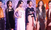 Thang Duy 'chị đại' quyền lực, siêu mẫu Victoria's Secret Lưu Văn đẹp nổi bật trên thảm đỏ