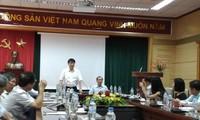 Thứ trưởng Bộ Y tế Trương Quốc Cường (đứng) tại buổi Thanh tra Chính phủ công bố kết luận sáng 20/9