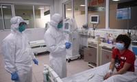 Bệnh nhân mắc COVID-19 đang điều trì tại BV Bệnh Nhiệt đới T.Ư
