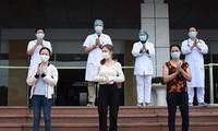 5 bệnh nhân mắc COVID-19 đã khỏi bệnh, được xuất viện ngày 25/4