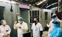 Cử đội cơ động phản ứng nhanh BV Trung ương Huế hỗ trợ Quảng Ngãi điều trị COVID-19