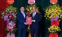 Thủ tướng Nguyễn Xuân Phúc trao quyết định bổ nhiệm chức danh Bộ trưởng Bộ Y tế cho GS.TS Nguyễn Thanh Long