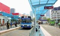 Sau vòng xoay Quách Thị Trang, trạm xe buýt trung tâm chính thức được di dời để phục vụ metro