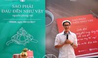 """Nguyễn Phong Việt và những dấu ấn trưởng thành trong tập thơ """"Sao Phải Đau Đến Như Vậy"""""""