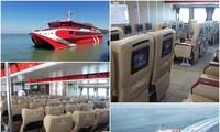Đi từ Vũng Tàu ra Côn Đảo chỉ mất 3 tiếng với tàu cao tốc Express 36