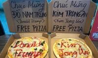 Nhiều quán ăn ở Hà Nội đã tung thực đơn và trang hoàng theo Hội nghị Thượng đỉnh Mỹ - Triều