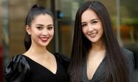 Hoa hậu Mai Phương Thuý và Hoa hậu Tiểu Vylần đầu có dịp đọ sắc cùng nhau