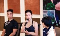 Diễm My 9X, Á hậu Huyền My cùng dàn người đẹp đọ vóc dáng tại sự kiện thể thao