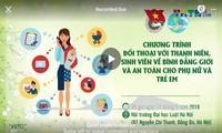 Đối thoại với sinh viên về bình đẳng giới và an toàn cho phụ nữ và trẻ em