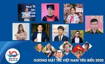 """Bảng thành tích nổi bật của top 20 """"Gương mặt trẻ Việt Nam tiêu biểu"""" năm 2020"""