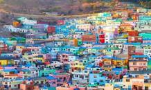Bên trong 'ngôi làng Lego' nổi tiếng ở Hàn Quốc
