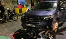 Vụ xe ô tô 'nuốt' xe máy chở thai phụ kéo lê trên phố: Phạt tài xế 46 triệu đồng