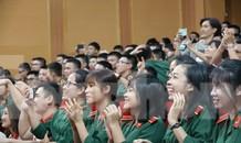 Tưng bừng gala đón 418 tân học viên Học viện Quân y